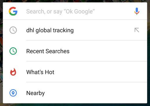 google barrerecherche