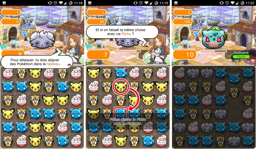pokemon shuffle mobile android 1