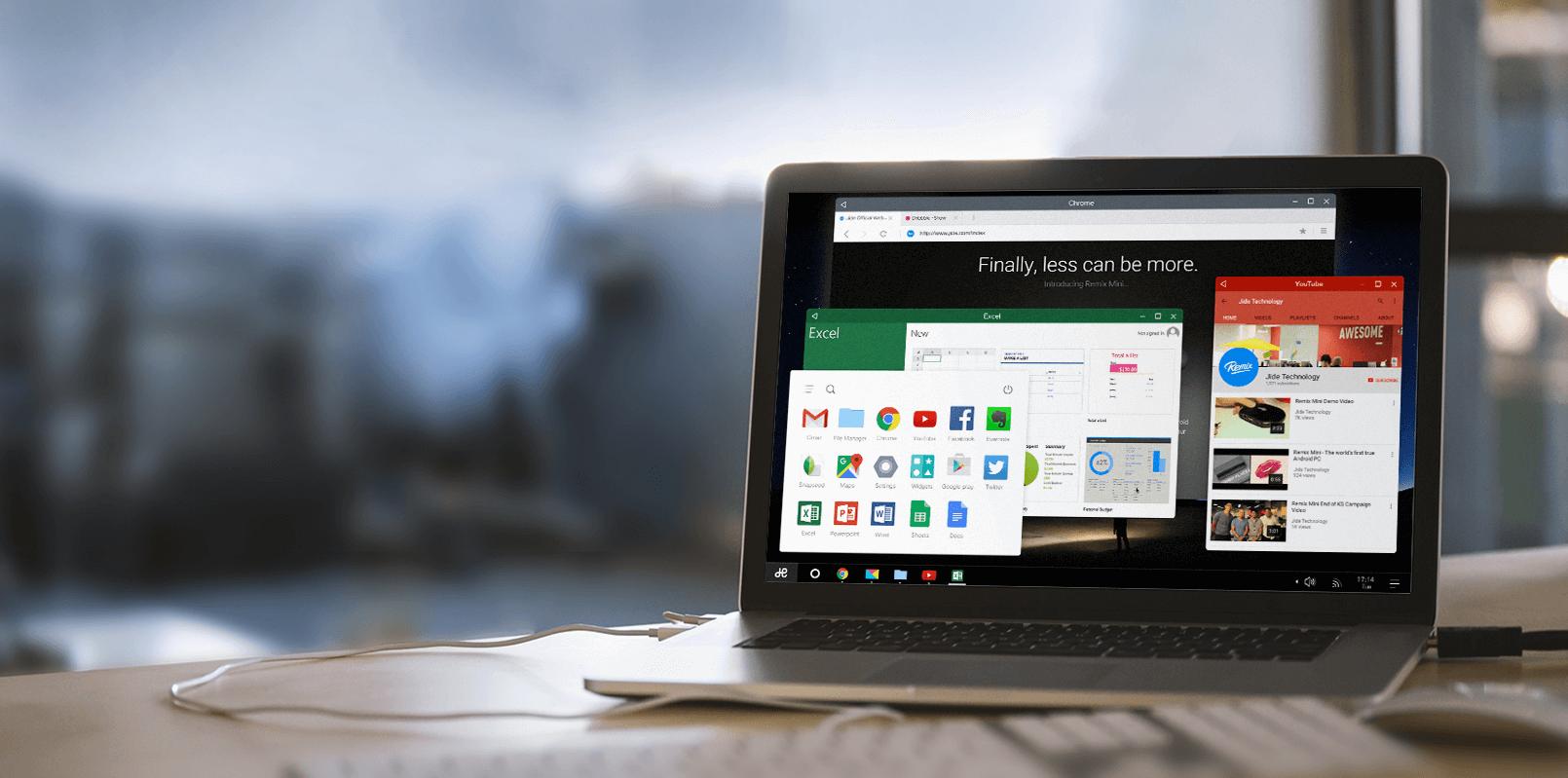 Remix OS, pour installer Android sur un PC, est disponible au téléchargement