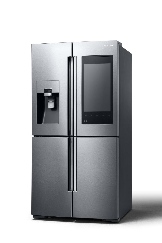 ces 2016 un frigo sous android chez samsung frandroid. Black Bedroom Furniture Sets. Home Design Ideas