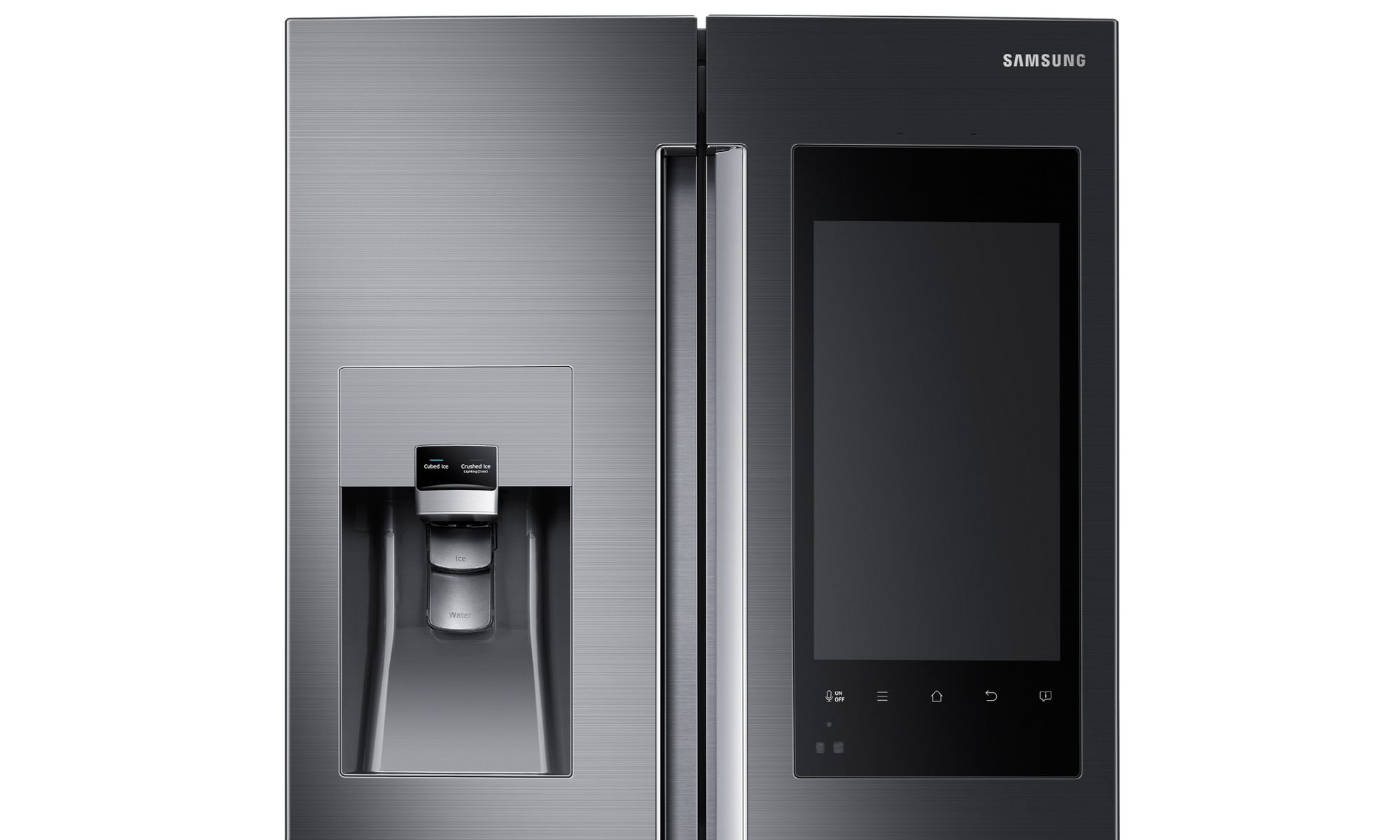 ces 2016 un frigo sous android chez samsung frandroid. Black Bedroom Furniture Sets. Home Design Ideas