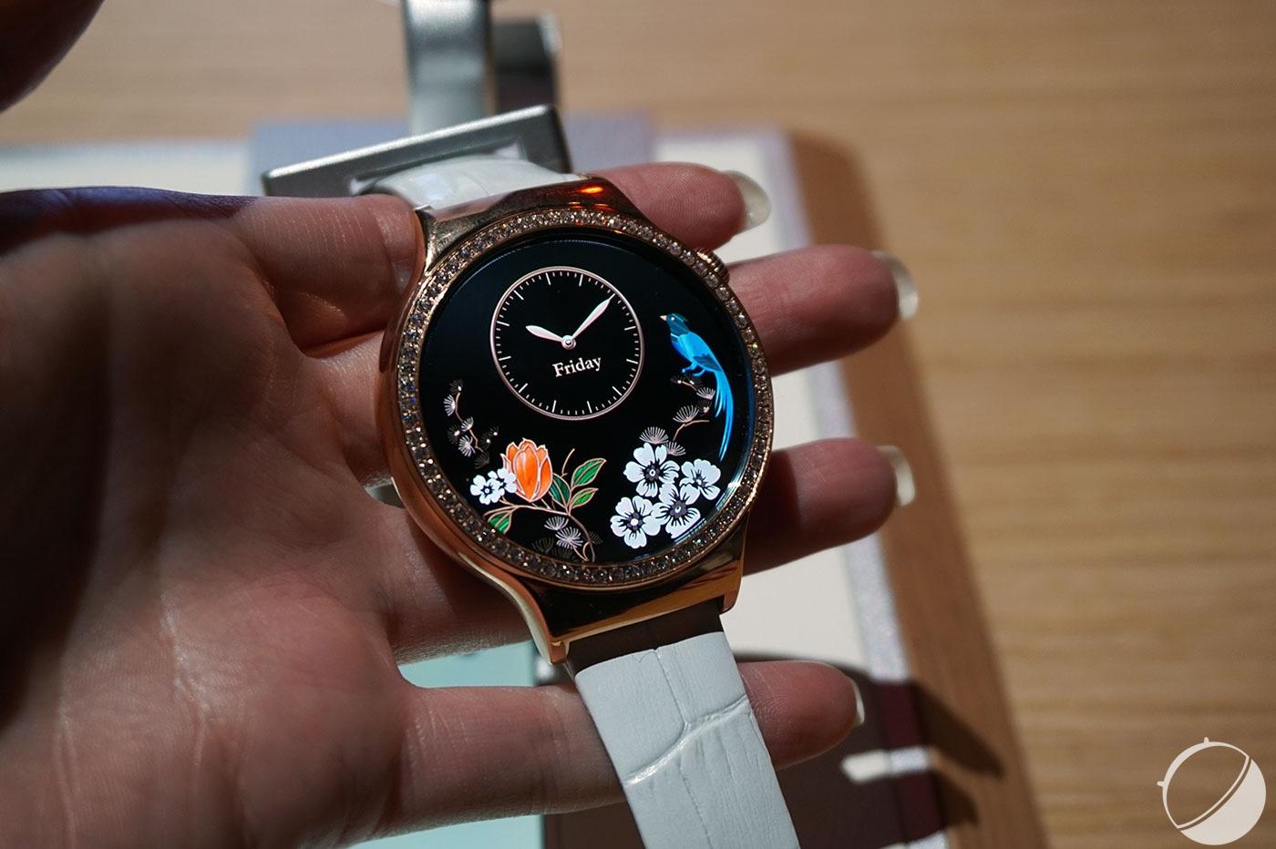 CES 2016   Huawei Watch Elegant et Jewel, des montres connectées ... 33e604c24df0