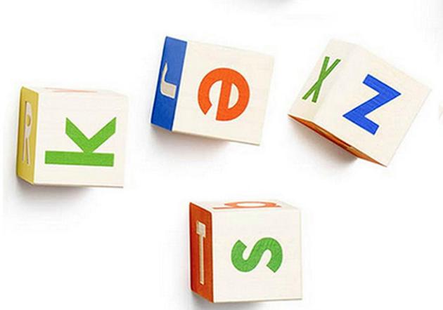 Les lettres d'Alphabet