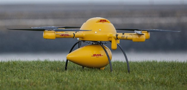 DHL drones