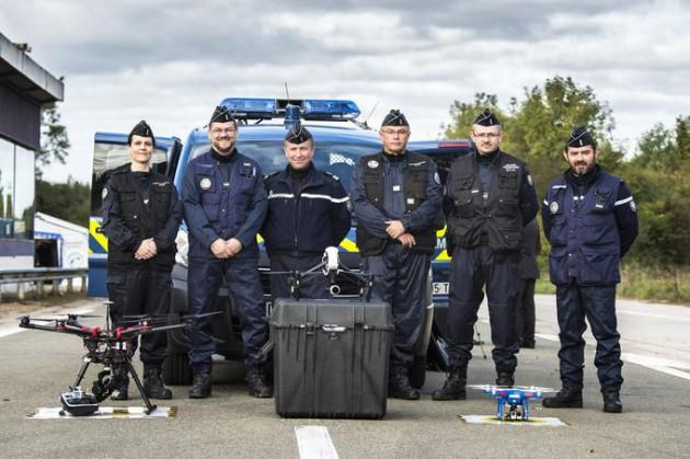Drone gendarmerie