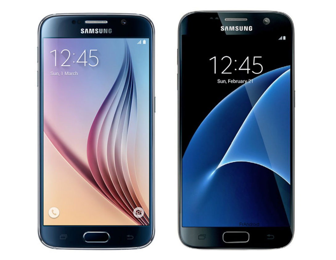 Samsung galaxy s7 vs galaxy s6 ce qui change d 39 une for Photo ecran galaxy s7