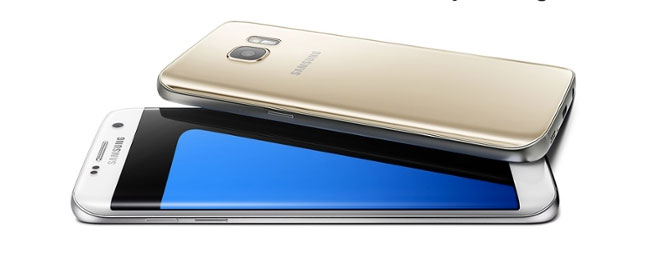 Le Galaxy S7 (en-dessous, sa version edge)