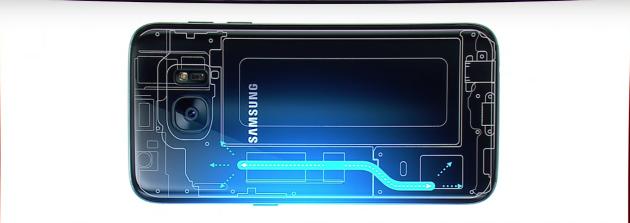Galaxy S7 caloduc