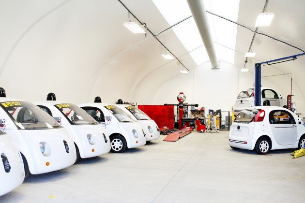 Google Car garage
