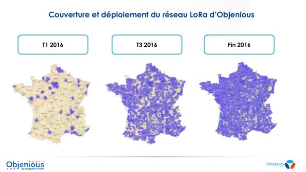 LoRa Bouygues Telecom couverture