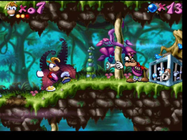 rayman 1 playstation