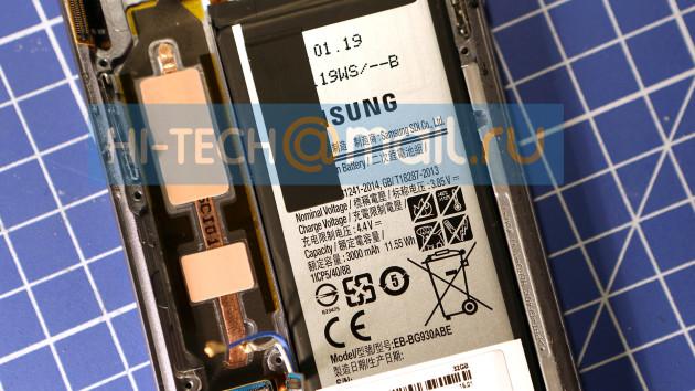 Samsung Galaxy S7 tear down