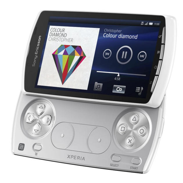 Le Xperia Play et ses boutons PlayStation