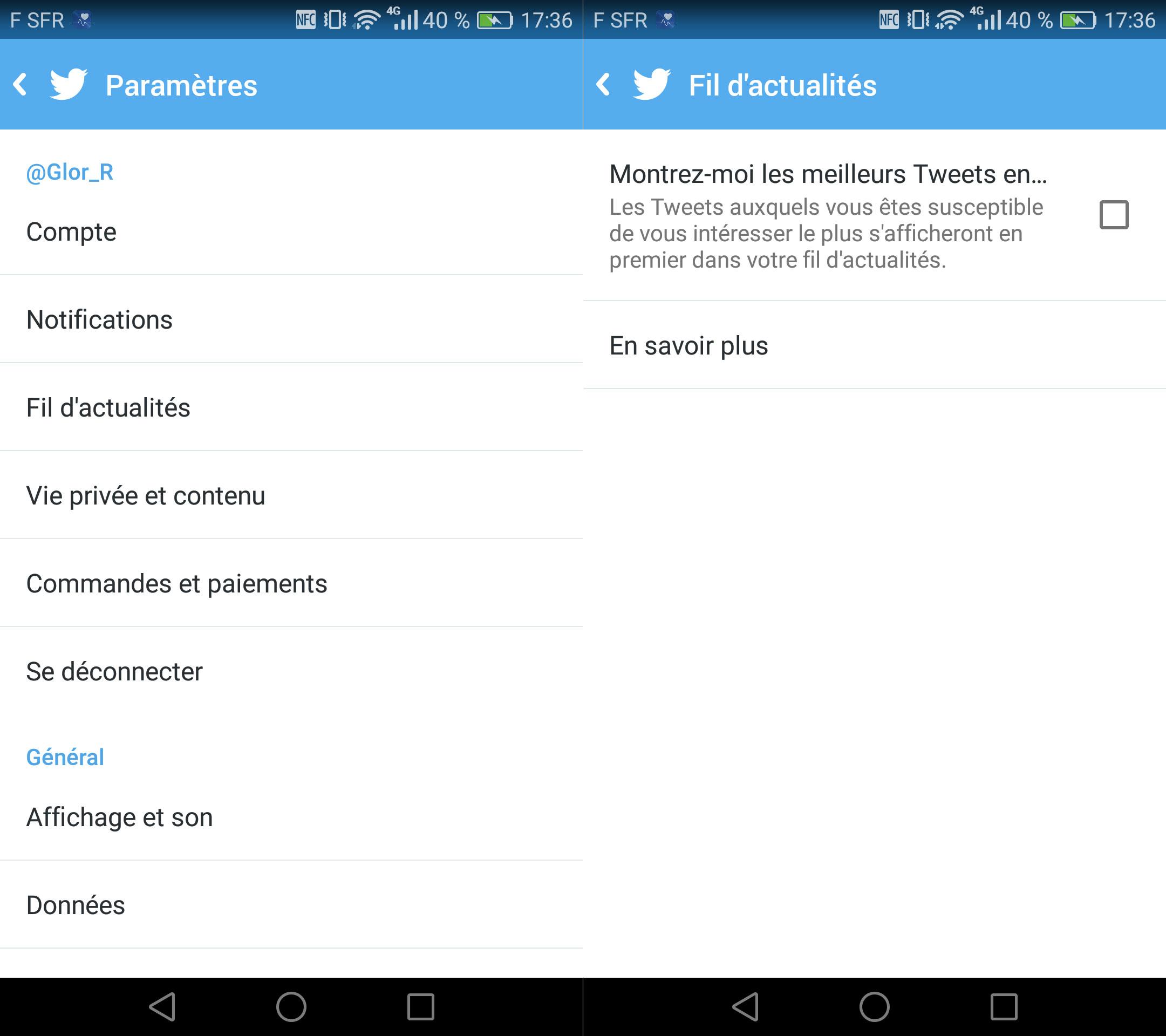 Twitter 2 - Activer office par telephone ...