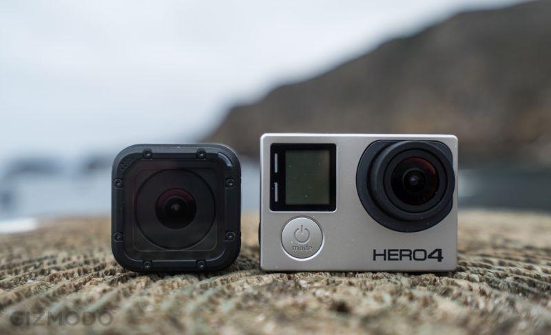 Les deux derniers produits GoPro