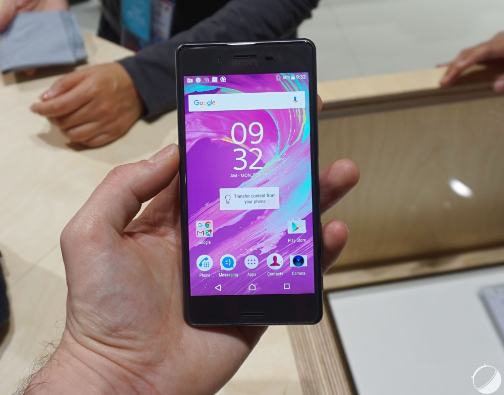 XPERIA X performance mwc16 2