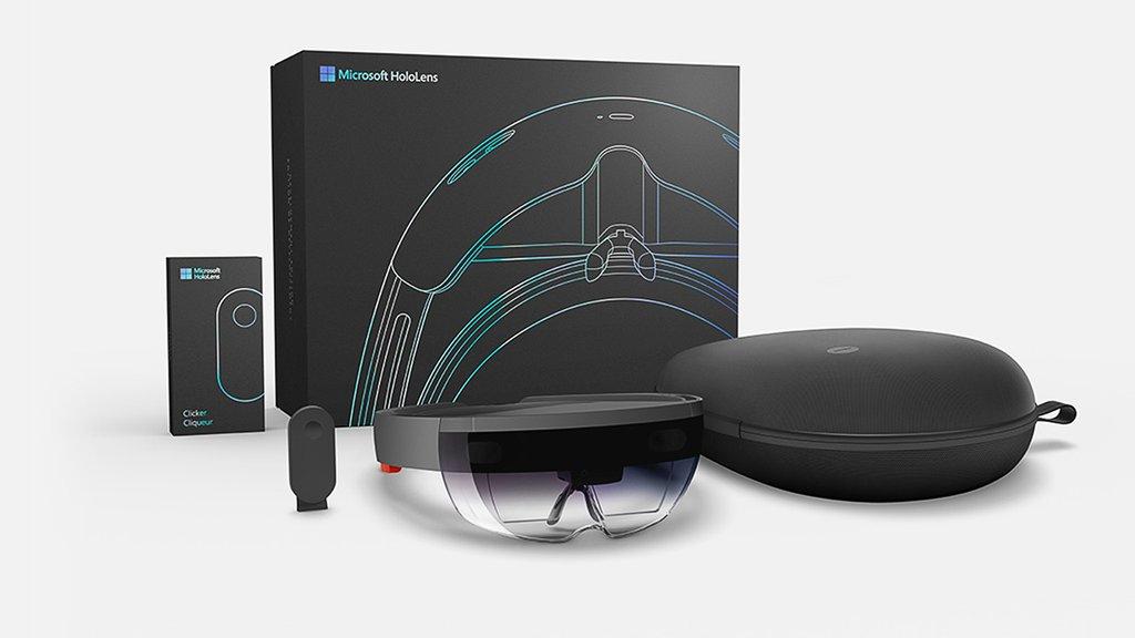 D Microsoft Glasses