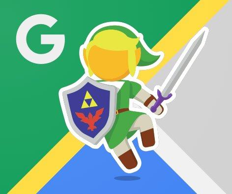 Link zelda s 39 invite sur google maps frandroid - Link dans zelda ...