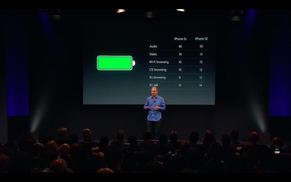 iPhone SE autonomie