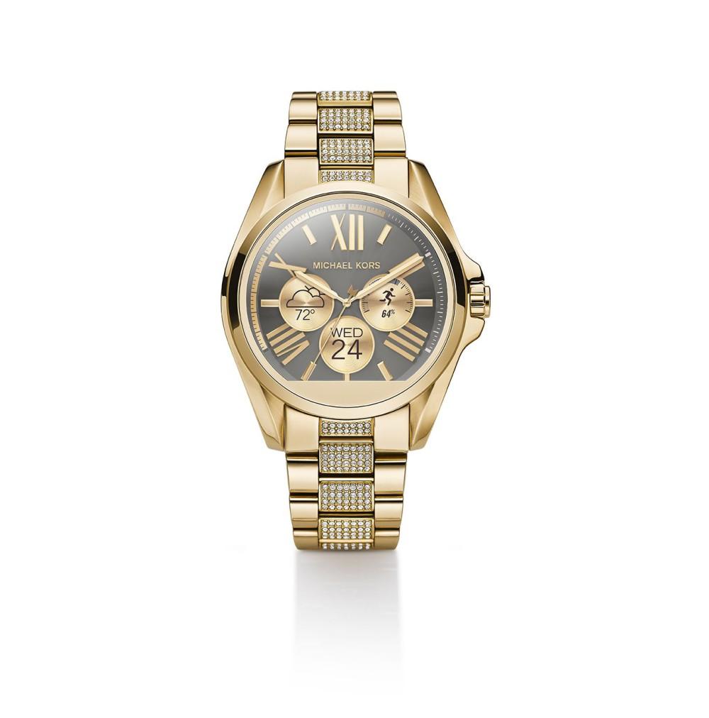 newest 9683e 9e5aa Les watchfaces devraient également changer dune montre à lautre. De base,  lAccess devrait disposer dun bracelet à maillon et Michael Kors prévoit  déjà ...
