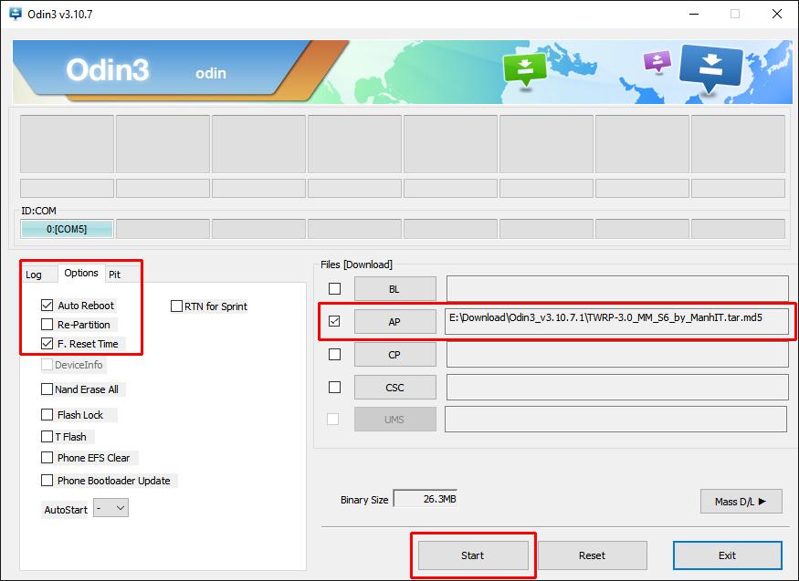 Tuto : Comment installer un recovery alternatif (TWRP) sur les