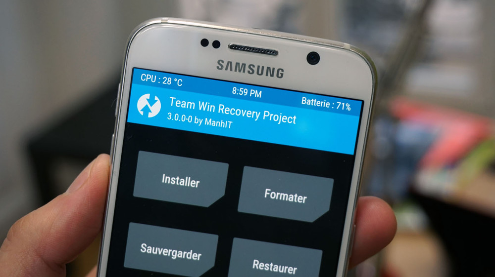 Tuto : Comment installer un recovery alternatif (TWRP) sur les
