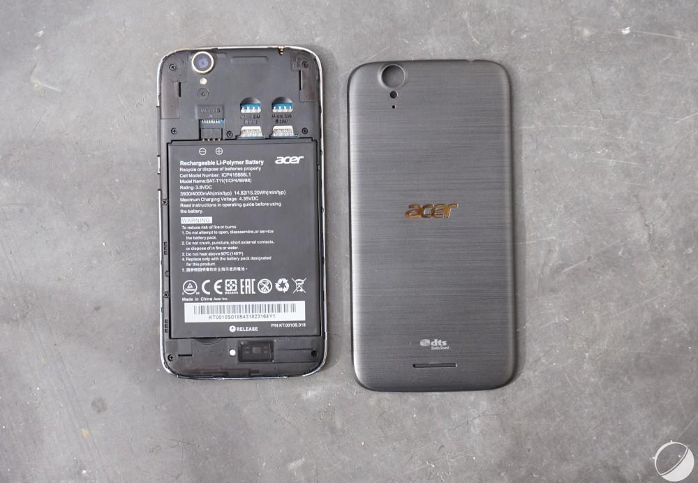 test acer liquid Z630S 11