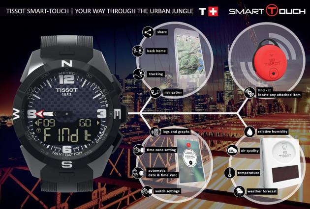 tissot smart watch