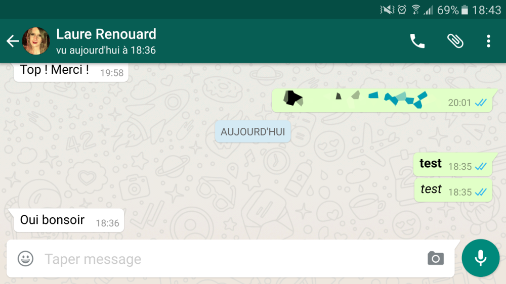 whatsapp-test-gras-italique