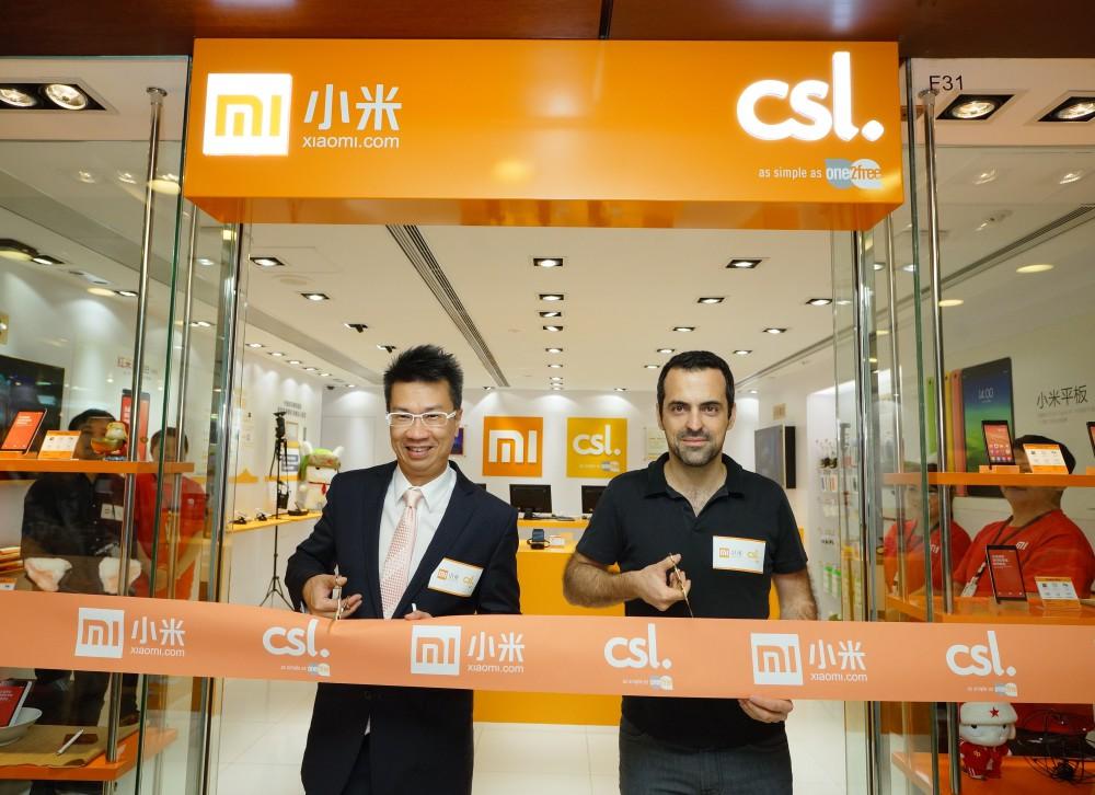 Xiaomi x csl shop opening