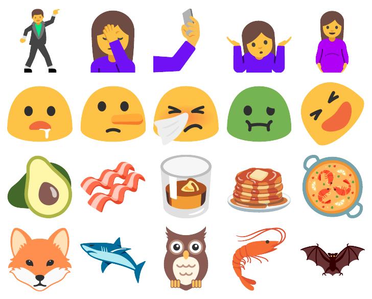 android n supporte d 233 j 224 des emojis qui ne sortiront pas avant plusieurs mois frandroid