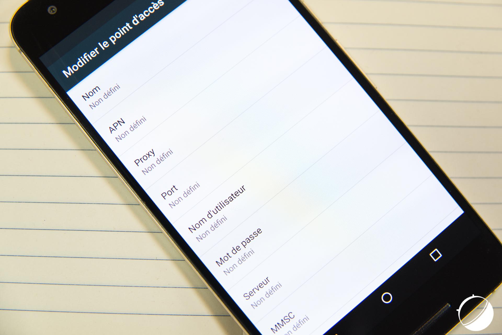 Tuto : Comment configurer l'APN de son mobile sur Android et liste des APN des opérateurs