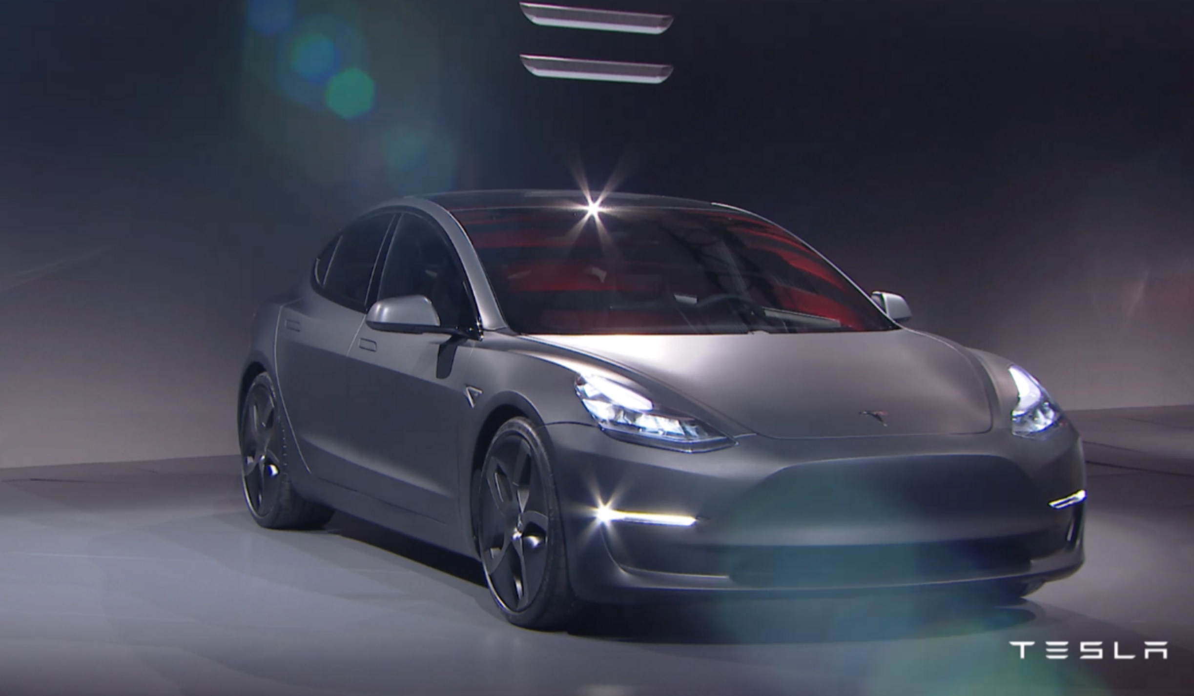 tesla model 3 voici celle qui devrait d mocratiser la voiture lectrique frandroid. Black Bedroom Furniture Sets. Home Design Ideas