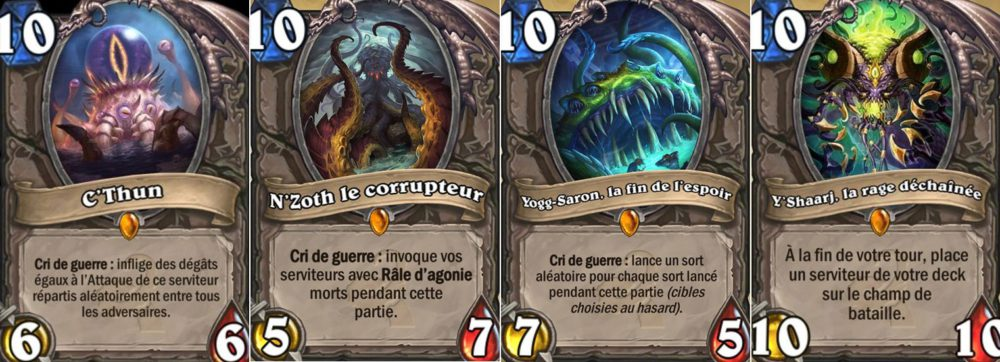 dieux tres anciens hearthstone