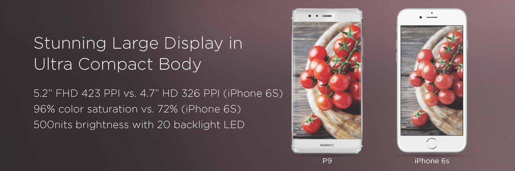 écran Huawei P9