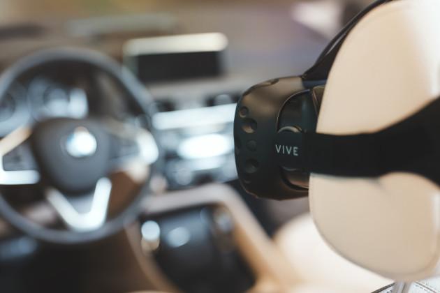 HTC Vive BMW