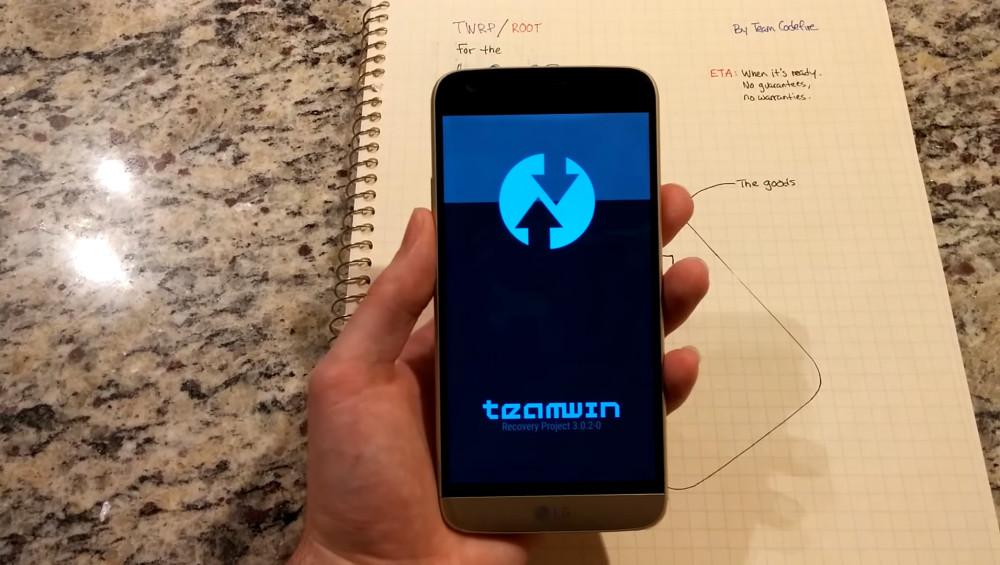 LG G5 : le root et l'installation de TWRP en cours de route - FrAndroid