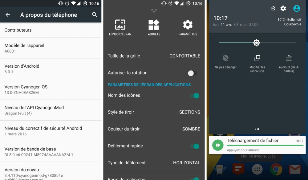 oneplus android marshmallow logiciel