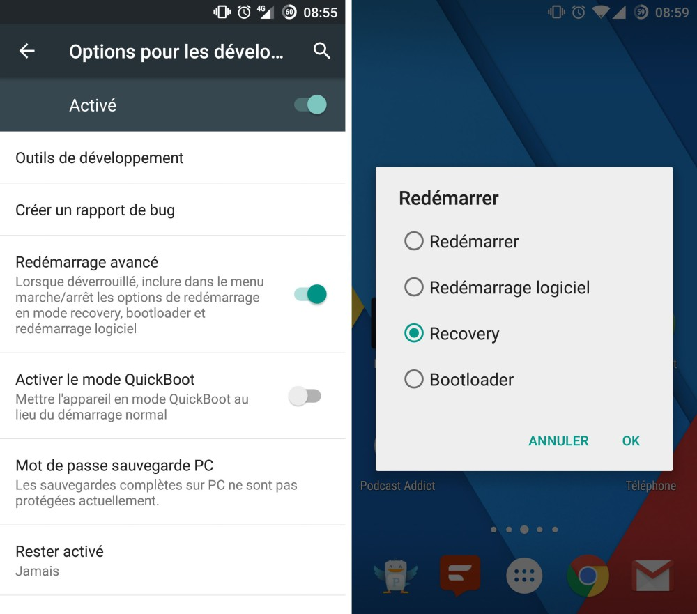 oneplus one installation android marshmallow