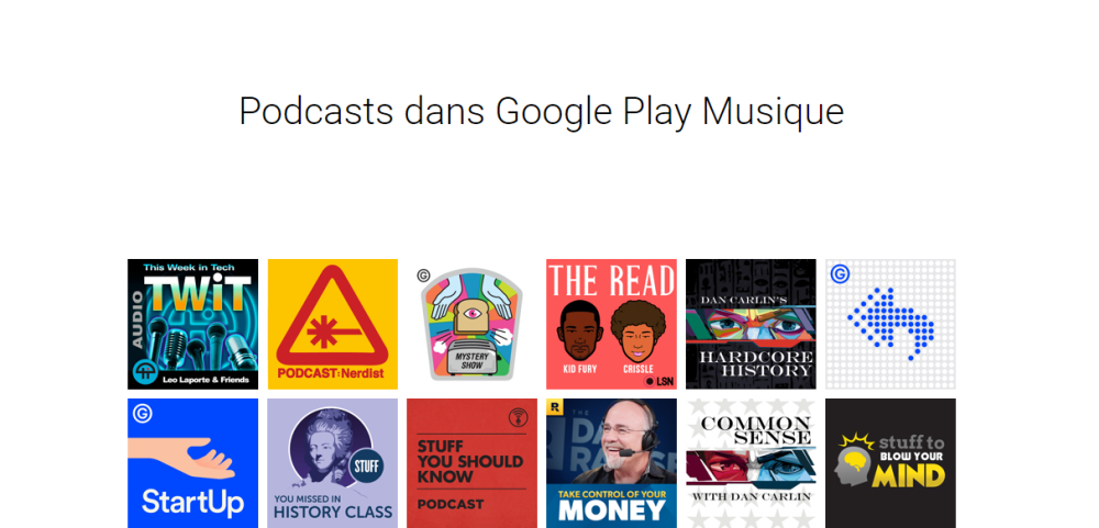 podcast google play music