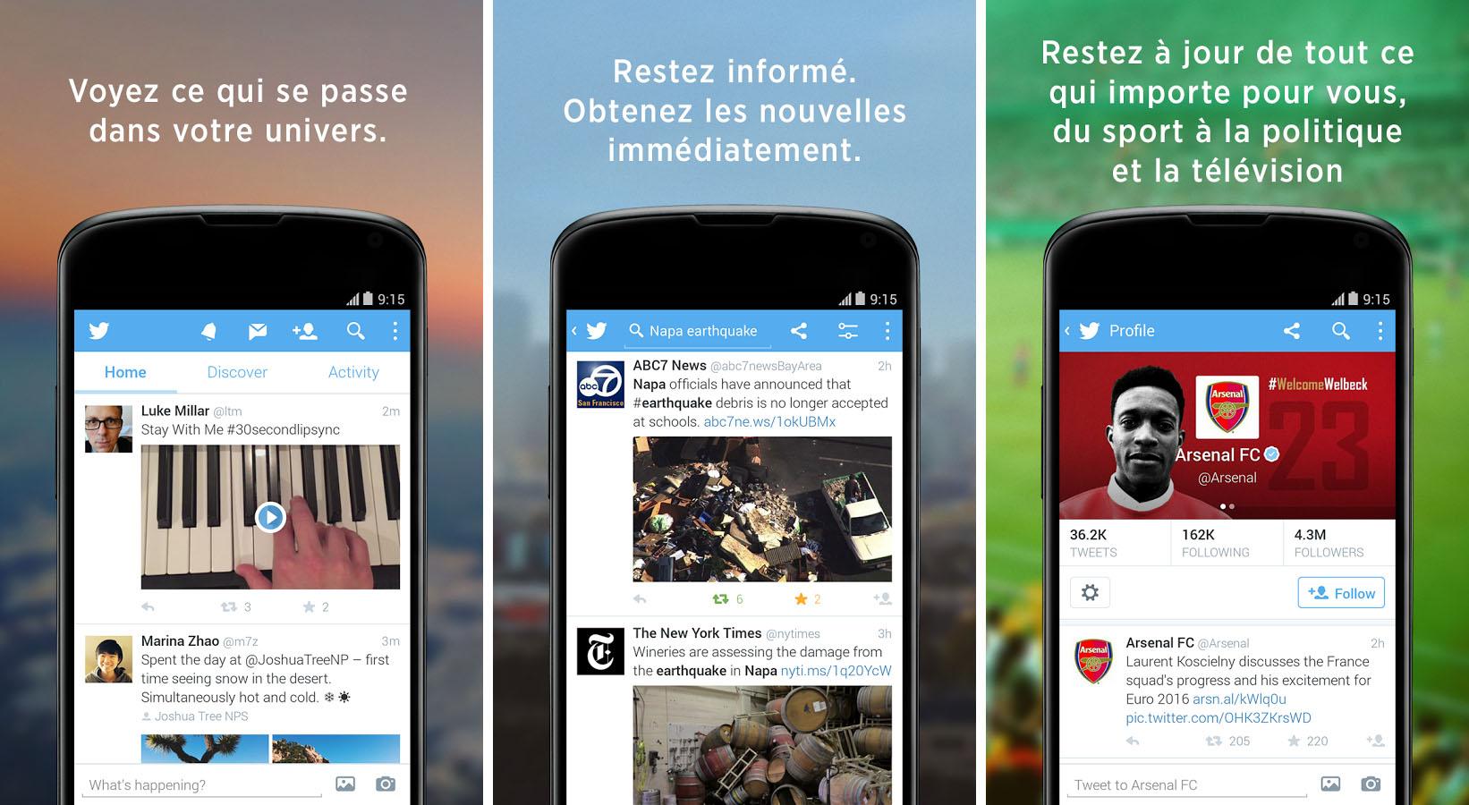 6 clients Twitter à essayer sur Android - FrAndroid
