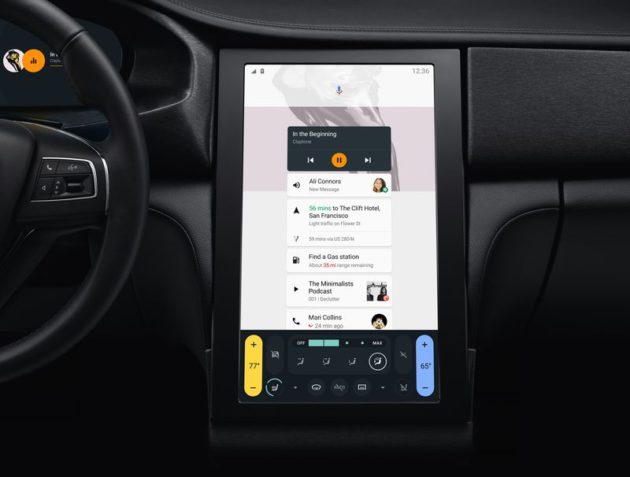 Android N voiture