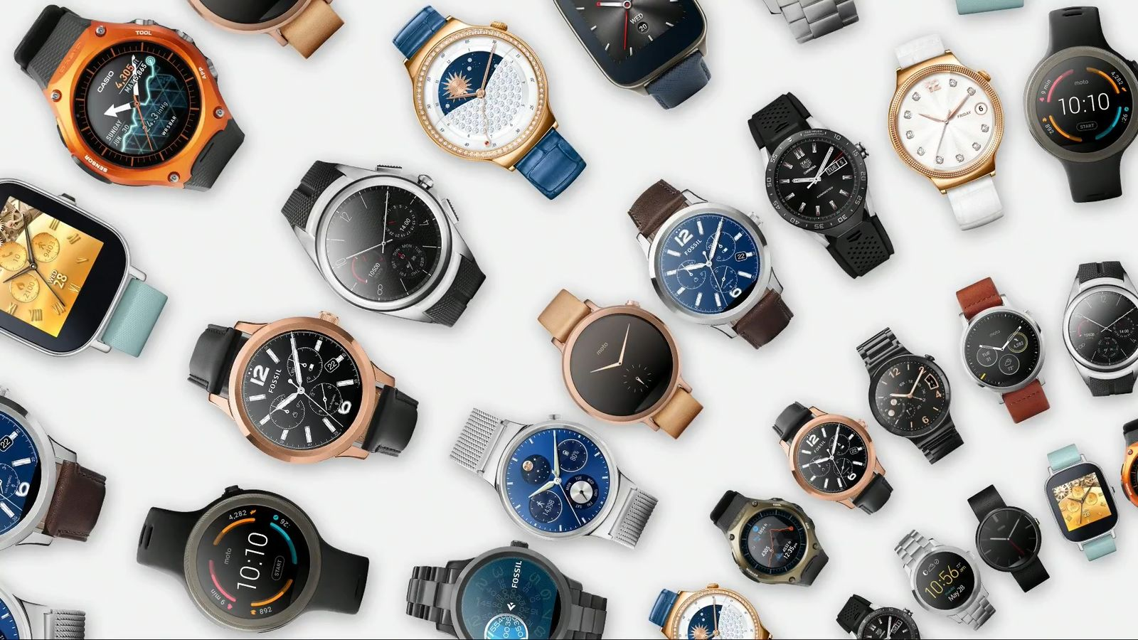Google plus android wear watches