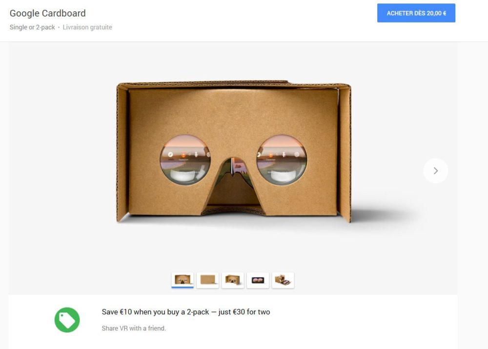 google store cardboard