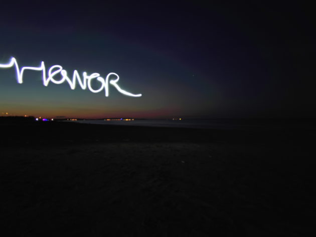 Light Painting Honor