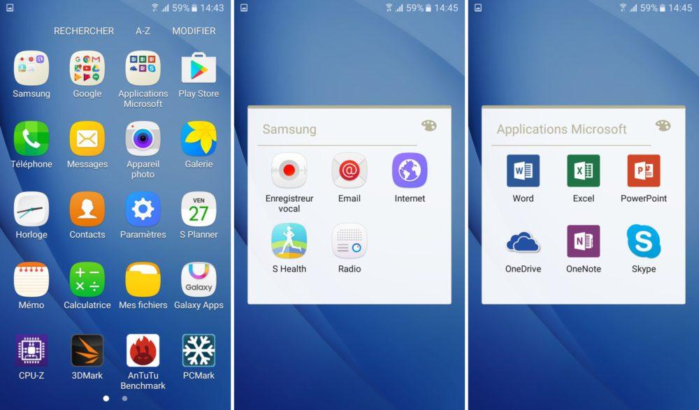 logiciel android galaxy j5 2016