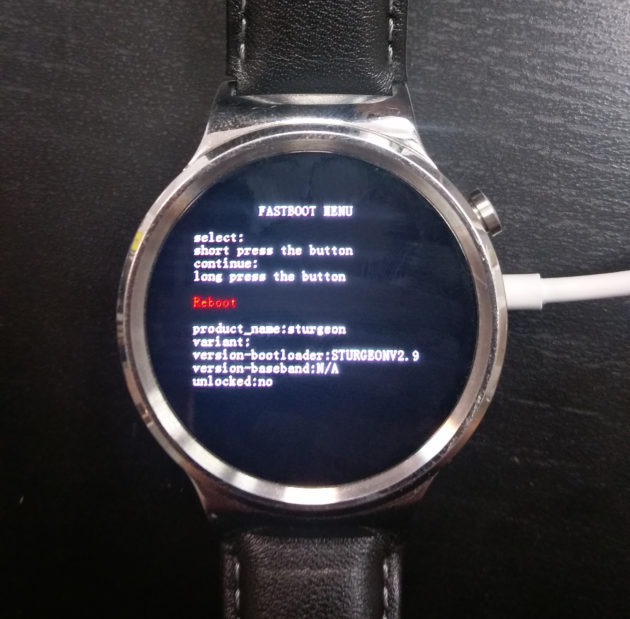 tuto preview wear 2 bootloader
