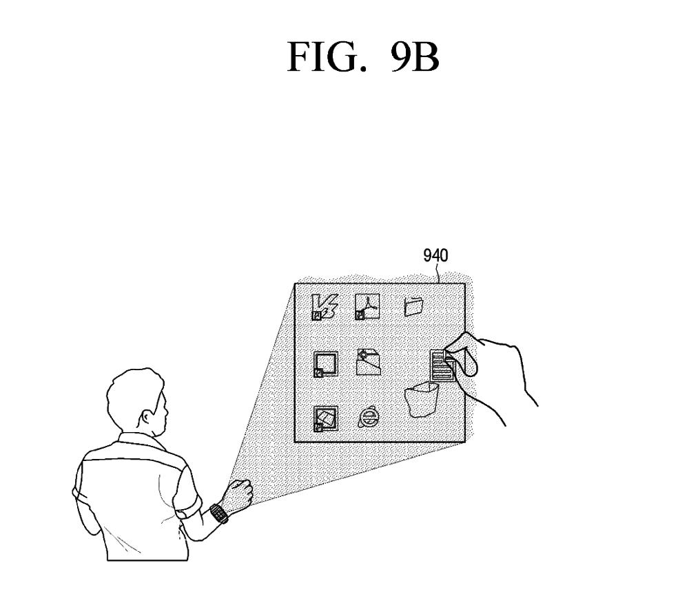 samsung-interface-smartwatch-projecteur-mur