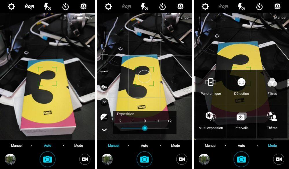 soshphone appareil photo app