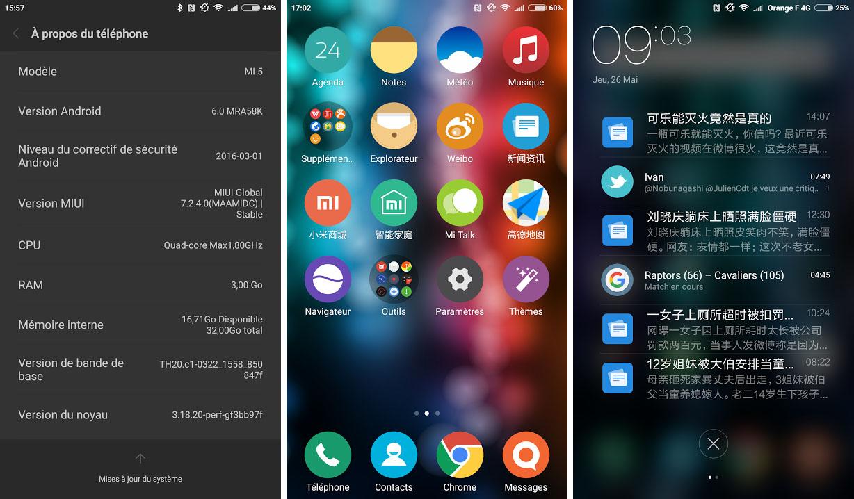 Xiaomi Mi5 Version Bloatwares